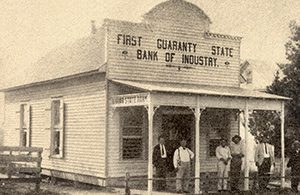 Original Industry State Bank Building